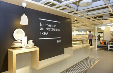 Ouverture du nouveau restaurant Ikea, ce jeudi 28 mai 2015 A VERNIER  GENEVE (PHOTOPRESS/Christian Brun)