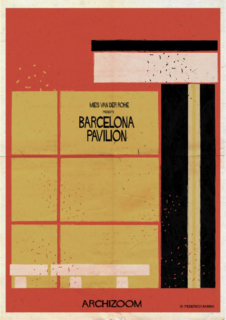 Illustration barcelona-pavilion